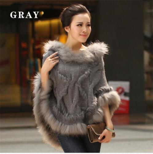 di di pelliccia di lana coniglio di maglione coniglio di Cappotto 8qwxS7dS