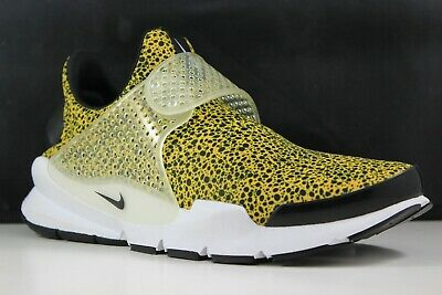 big sale 4db30 729d4 Nike Sock Dart QS Size 9 Mens University Gold/Black-White 942198-700   eBay