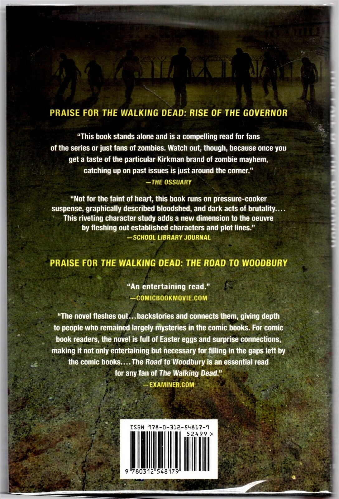 The Walking Dead  The Fall of of of the Governor  Part One 1st Ed. Hand Signed 3ee83d