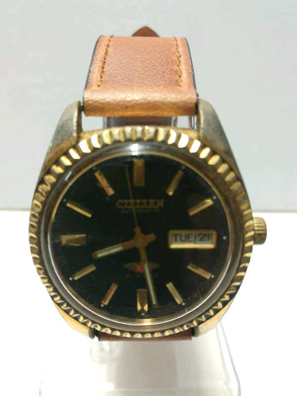 CITIZEN GOLD PLATE 21 JEWELS AUTOMATIC