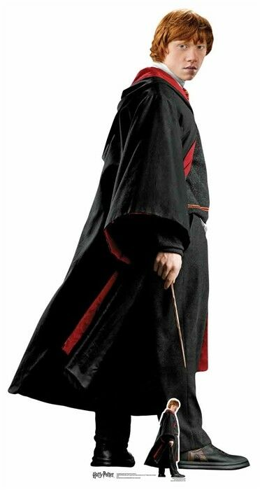 Ron Weasley Potter Hogwarts School Uniform Cardboard Cutout   Standup   Standee
