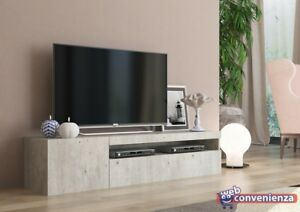 Frozen Mobile Porta Tv 2 Ante Living Cemento design moderno ...