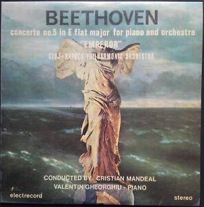 Beethoven - Piano Concerto No. 5, GHEORGHIU, MANDEAL, Cluj, Electrecord STEREO