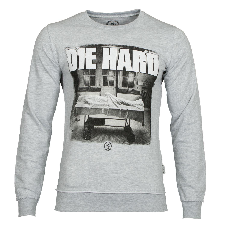 Boom Bap Herren Sweatshirt DIE HARD Grau - NEU