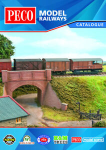 Peco Model Railways Catalogue New Edition 2018 -Full colour - IN STOCK! - F2 AvNqPI8j-09155107-263377345