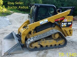 image is loading caterpillar-289-skid-steer-radio-wire-harness-cd-