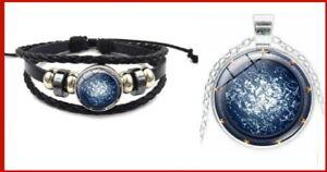 Pack-Stargate-Atlantis-Lot-1-bracelet-amp-1-pendentif-porte-des-etoiles-stargate