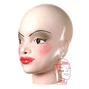 Image Is Loading Realistic Latex Transgender Mask Gummi Rubber Crosdresser Sissy