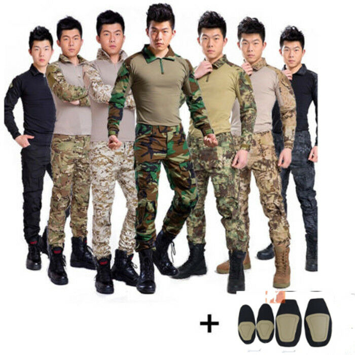 2019 Airsoft Tactical gen3 G3 Combat Suit Shirt Pants Special Forces BDUUniform