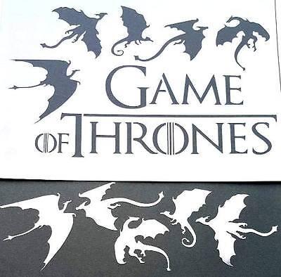 #8 Game Of Thrones ARRYN STARK BARATHEON LANNISTER Sigil Airbrush Stencils Paint