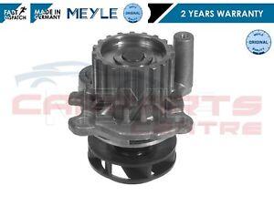 Para-VW-Bora-Caddy-Golf-New-Beetle-Polo-bomba-de-agua-del-refrigerante-del-motor-Meyle-Alemania