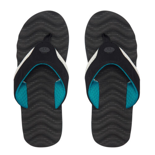 Animal Ss18 Flops Flip Jekyl Black Ripple Mens rzx16Ur