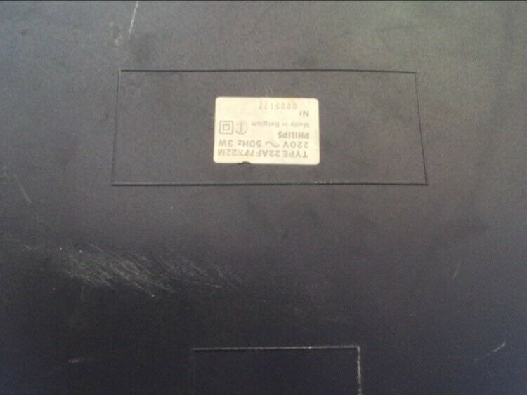 Pladespiller, Philips, Electronic 777 Direct control