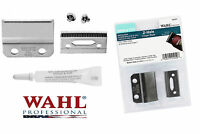 6x0 2-hole Replacement Blade Set,screws&oil For Wahl 8110 5 Star Balding Clipper