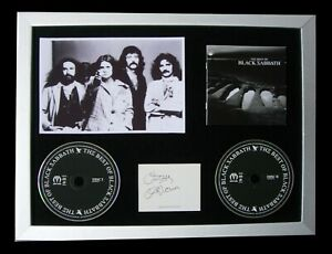 BLACK-SABBATH-OZZY-OSBOURNE-SIGNED-FRAMED-PARANOID-100-GENUINE-FAST-GLOBAL-SHIP