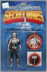 Secret-Wars-1-Thor-Action-Figure-Variant-Marvel-Comic-1st-Print-2015-NM