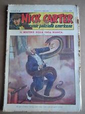 Nick Carter Il Grande poliziotto americano Anni 40 n°61 ed. NERBINI  [G369]