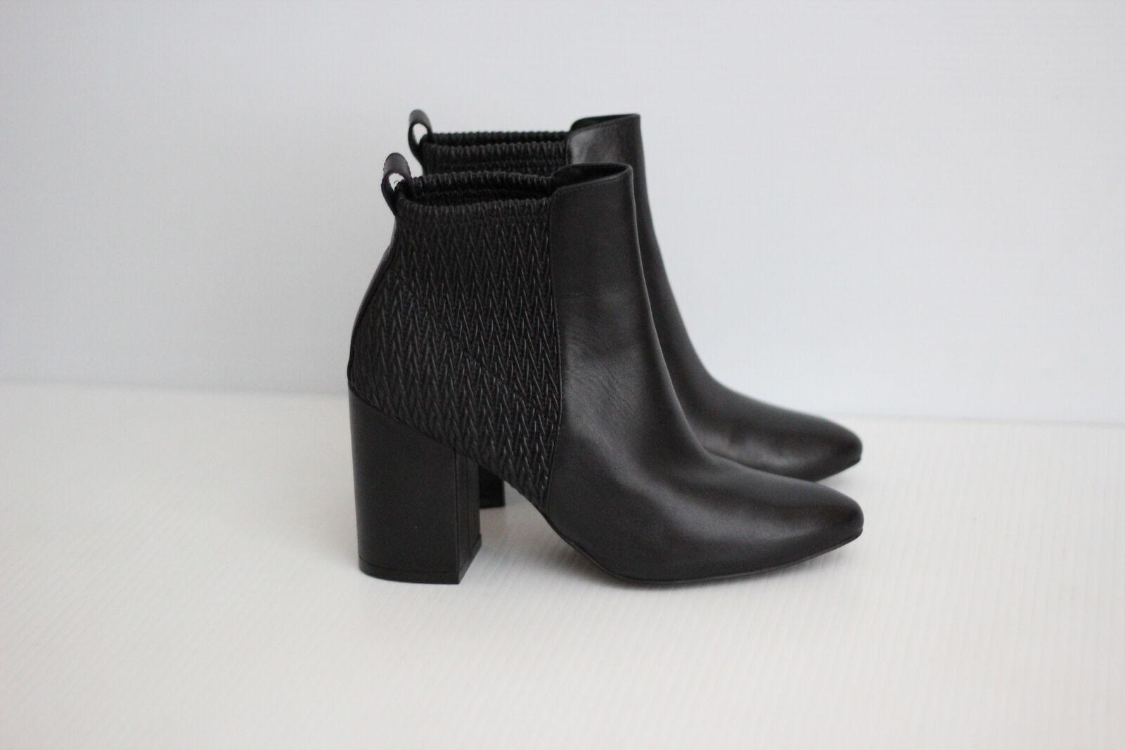 autorizzazione ufficiale NEW Cole Haan Donna  Aylin Ankle avvioie avvioie avvioie - nero Leather - Dimensione 7 B  (A14)  alto sconto