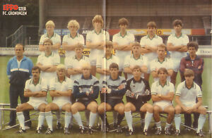 STRIPWEEKBLAD-EPPO-1982-nr-43-FC-GRONINGEN-POSTER-MORRIS-STEF-ARDOBA