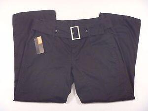 801ed12a NWT Women's Diesel Black Capri Pants Pantalone Zenze Pants size 27 ...
