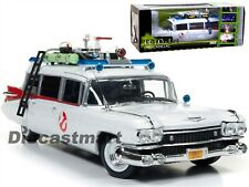 AUTOWORLD AWSS118 1:18 1959 CADILLAC ELDORADO ECTO-1 GHOSTBUSTER MOVIE NEW MODEL