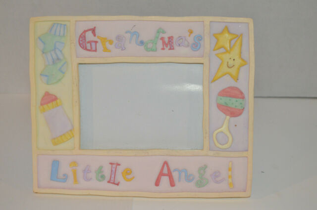 personalized Grandma Nana Mommy picture photo frame Grammy/'s little love bug