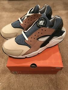 "Details about Nike Air Huarache Size 11.5 ""Escape"" BisqueStorm Grey"