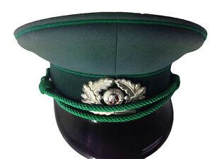 2544f6ea34b Peaked Uniform Cap NVA DDR VOPO BGS Wehrmacht Deutschland 83 Era Pea ...