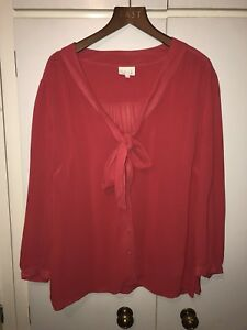 Full Sleeved Bow East Front Size Shirt Pink Lewis 14 Magenta Top John x8XrqSXnI
