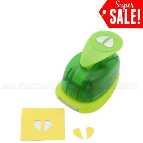 """5//8/""""inch Heart Paper Caraft Punch Craft Supplies Puncher Scrapbooking Card New"""
