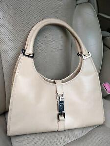 Gucci-Jackie-Hobo-Bag-Shoulder-Beige-Leather-Purse-002-1067-Piston-Handbag