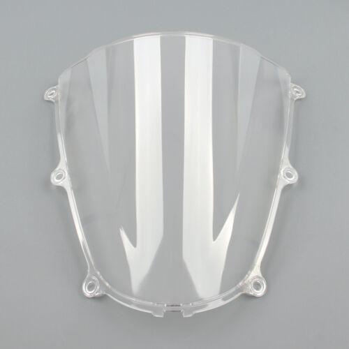 Windshield WindScreen Double Bubble For Honda CBR600RR 05-06 CBR 600 RR White US