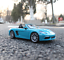 Bburago-1-24-Porsche-718-Boxster-Blue-Diecast-Model-Racing-Car-NEW-IN-BOX thumbnail 1