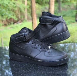 Details about Nike Air Force 1 Mid '07 Men's Size 17 Black 315123 001