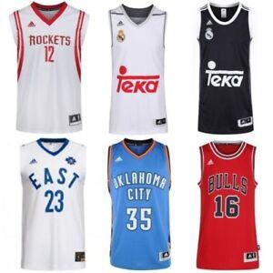 Adidas-Basketball-Trikots-Replikat-Swingman-NBA-Bulls-Thunder-Real-Madrid