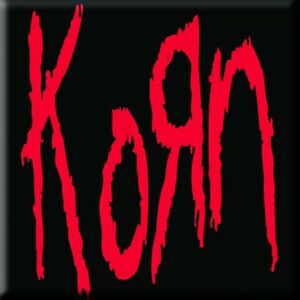 Vente Pas Cher Korn - Logo Magnet Aimant Rock Off Performance Fiable