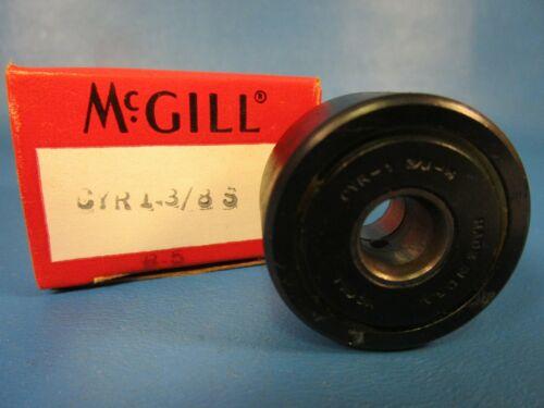 """McGill CYR 1 3//8 S 3//8/"""" ID x 1 3//8/"""" OD x 13//16/"""" Width Cylindrical Yoke Roller"""