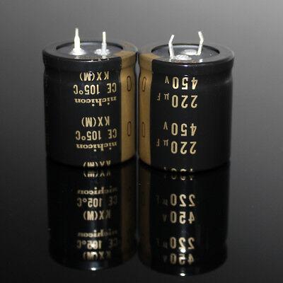 25V-450V Radial Aluminium Electrolytic Capacitors Range of 220uF-47000uF 105°C