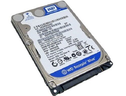Western Digital WD5000BEVT 500 GB SATA II 5400 RPM 2,5 Zoll Notebook Festplatte