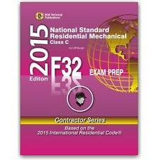 F32 National Standard Residential Mechanical Study Exam Prep Questions Workbook