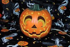 TrendMasters Foam Pumpkin Tribal Light Up Jack-O'-Lantern Halloween Decoration