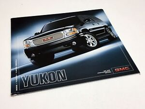 2005 Gmc Yukon Denali >> Details About 2005 Gmc Yukon Denali Brochure