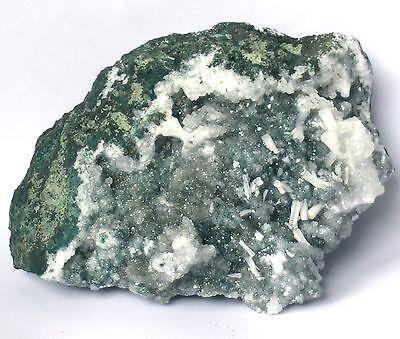 Graue Chalcedon Quarz Stufe Nasik Indien ca. 11 x 9 x 4,5cm ZN33