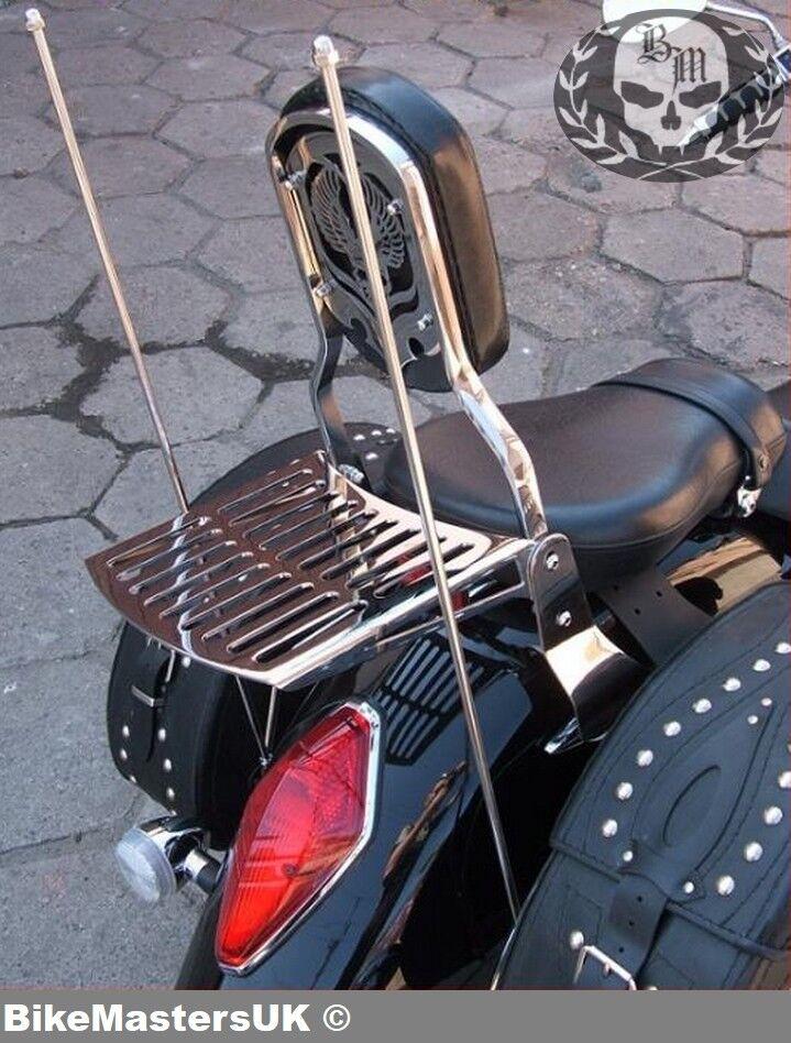 Sissy Bar luggage rack Fehling Suzuki Intruder VL 125