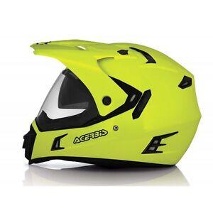 Acerbis-Actif-Dual-Sport-Offroad-sur-Route-Adventure-Casque-Hi-Visibilite
