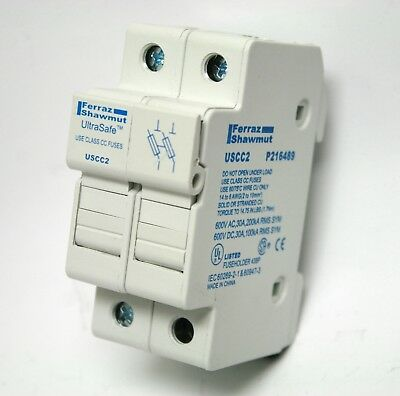 30A Ferraz Shawmut USCC2 P216489 Fuse Holder 600V