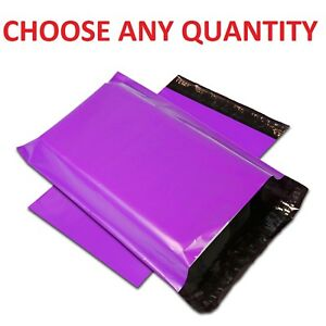 7-5x10-5-PURPLE-POLY-MAILERS-Shipping-Envelopes-Self-Sealing-Mailing-Bags-7-034-x10-034