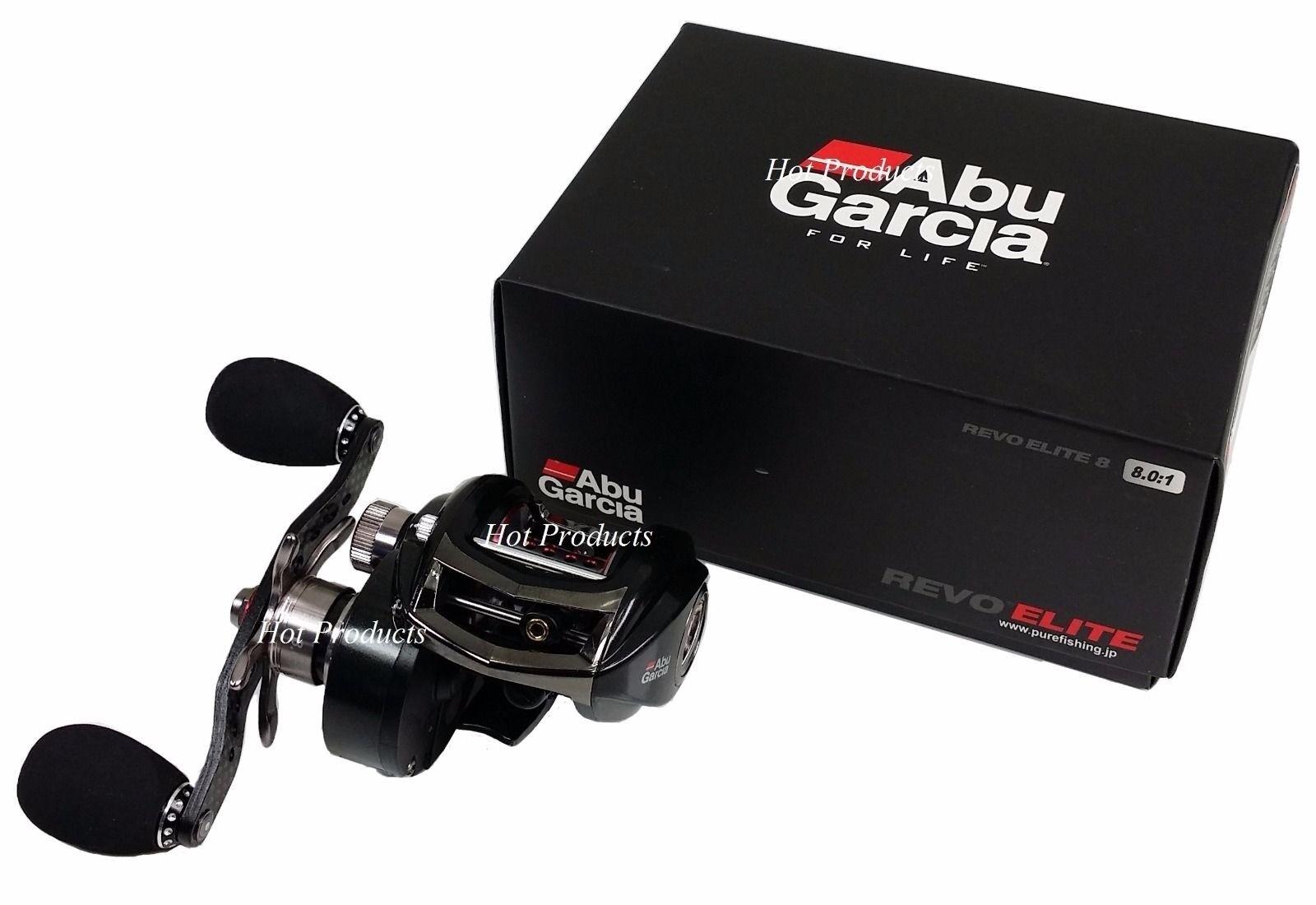 Abu Garcia REVO ELITE 8 8.0 1 RIGHT HAND High Speed Bait Casting Reel ELT-SHS