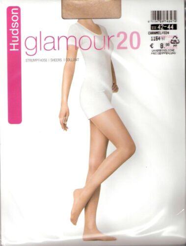 Collant Hudson Glamour 20 Taille I-IV NOIR peau teint
