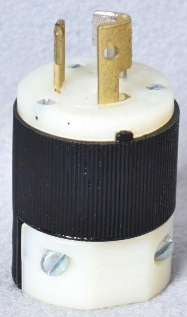 LOT OF 5 HUBBELL TWIST LOCK 15A 277VAC  HBL4770C NEMA L7-15 MALE LOCKING  PLUG